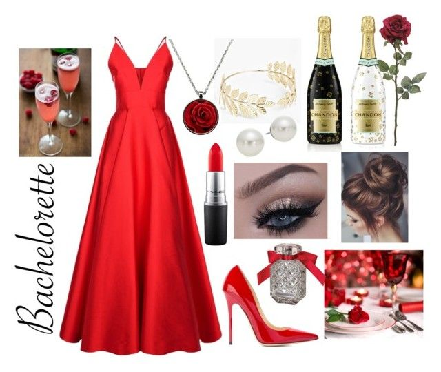 """Bachelorette"" by real-21c on Polyvore featuring La Mania, Jimmy Choo, Boohoo, Rebecca Minkoff, Victoria's Secret and AK Anne Klein"