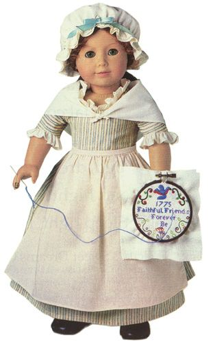 American Girl - Felicity Work Gown and Needlework Kit