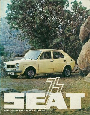 SEAT 127 4 PUERTAS '74
