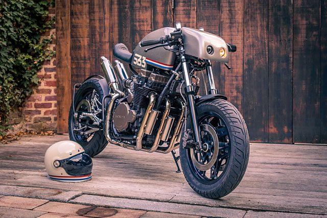 Cool Sport Racing Bikes By Chavi Sharma: ALIEN RACE. Signbike's 'SB3' Honda CBX750F Cafe