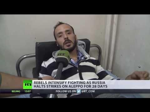 Trotz russischer Zurückhaltung - Rebellen eskalieren Krieg in Aleppo