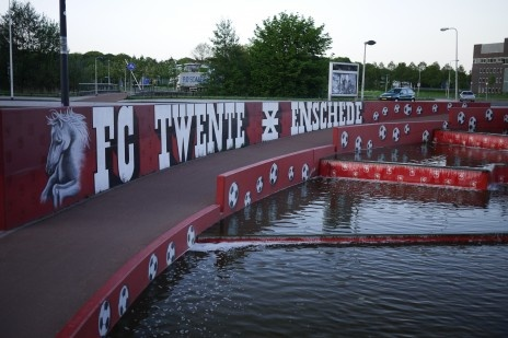 Enschede is very, very serious about FC Twente's championship…