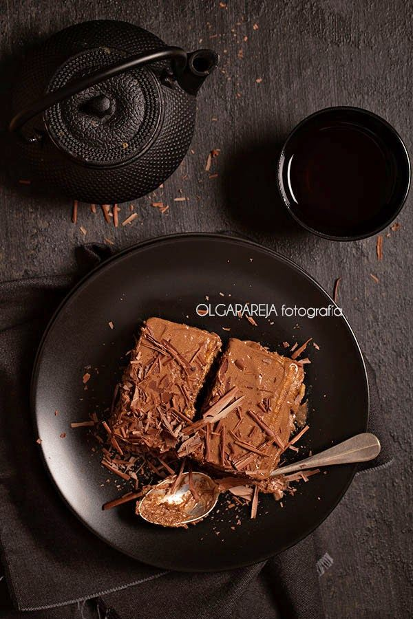 Nina's Kitchen: Pastel de galletas y chocolate
