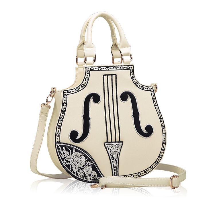 The best gift. 2015 Japan and South Korea fashion violin women shoulder bag…