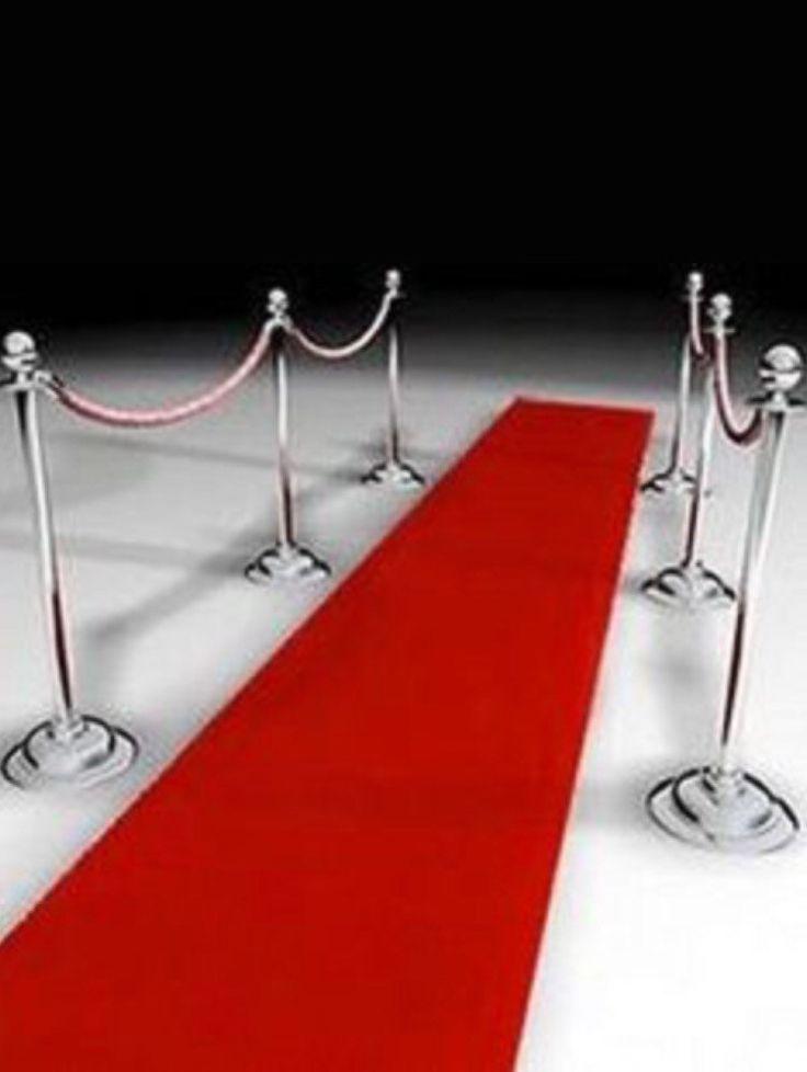 red carpet, red carpet runner, aisle runner, prom, Red velvet, non slip aisle runner, hollywood party, glam events, birthdays, velvet by FantasyFabricDesigns on Etsy