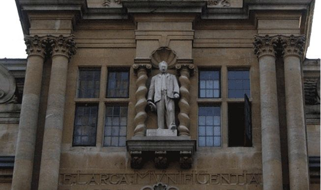 Oxford students call for 'racist' Rhodes statue to be removed A group of students at Oxford want the university to follow in the footsteps of the University of Cape Town and pull down their statue of Cecil Rhodes. http://www.thesouthafrican.com/oxford-students-call-for-racist-rhodes-statue-to-be-removed/