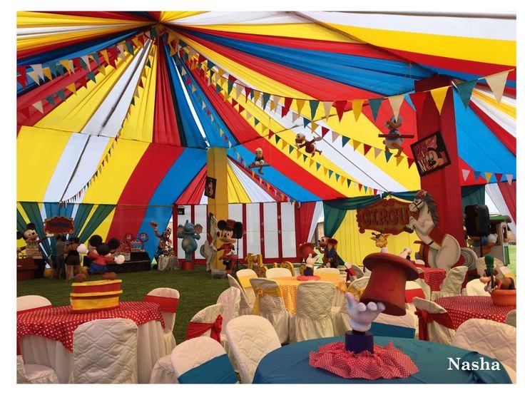 Decoración Circo Nasha Fundo https://www.facebook.com/nashasfundo/
