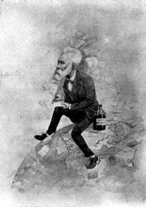 JULIO VERNE el más desconocido de los hombres - Galería - Caricaturas y dibujos