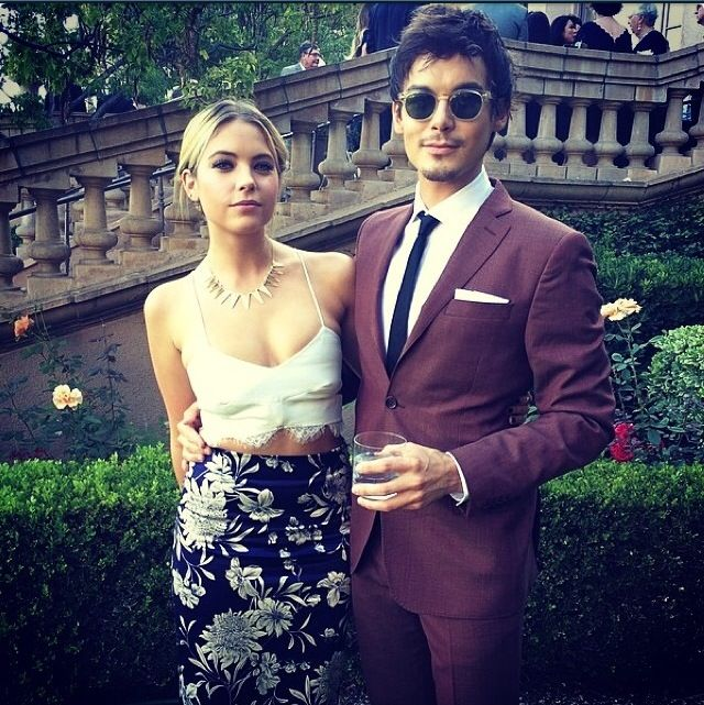 Both beautiful people! Pretty Little Liars is the Best