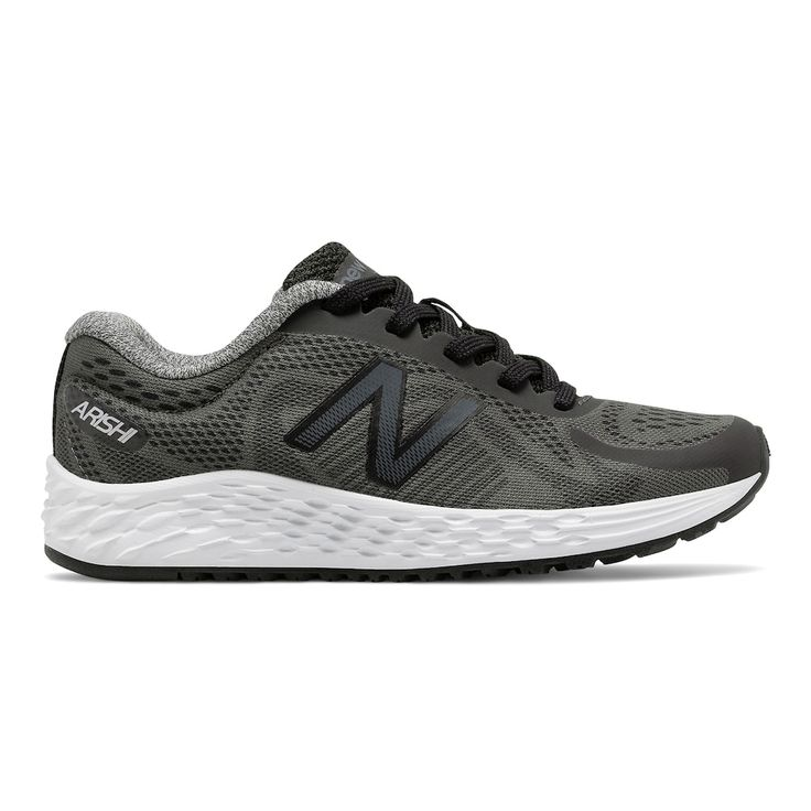 New Balance Arishi Boys' Running Shoes, Size: 11 Wide, Grey Other