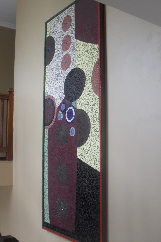 Modern mural
