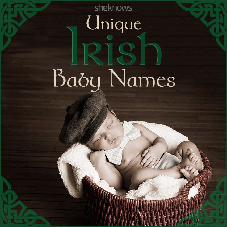 Give the luck of the Irish to your baby: Beautiful Irish names for boys and girls
