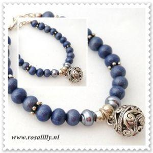 Armband Hollands blauw