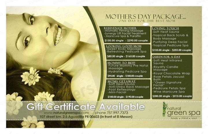 Mother S Day Packages Best Spa In Puerto Rico Best Spa Pedicure Spa Body Massage