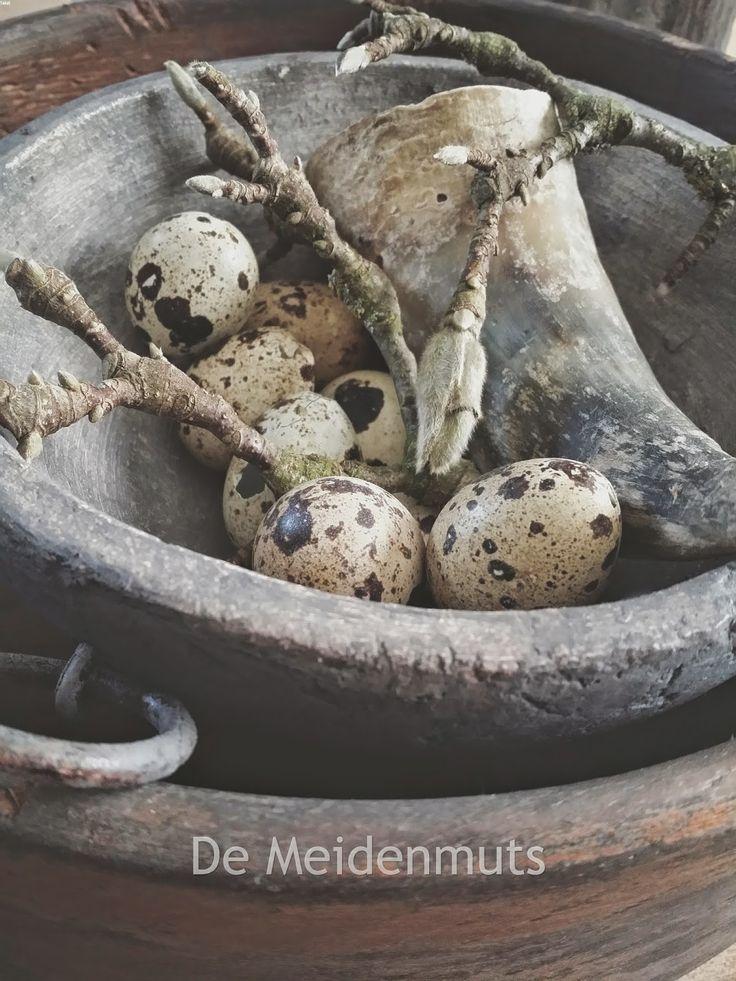 De Meidenmuts - landelijke paasdecoratie