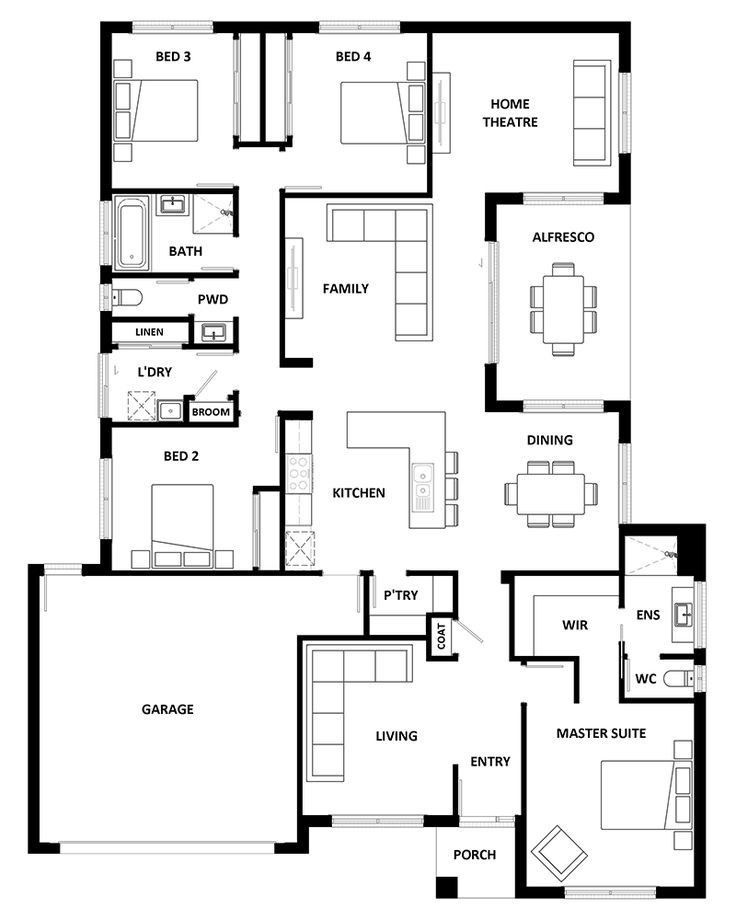 Awesome Bed And Breakfast Floor Plans Home Design Floor Plans House Layout Plans Cottage Floor Plans