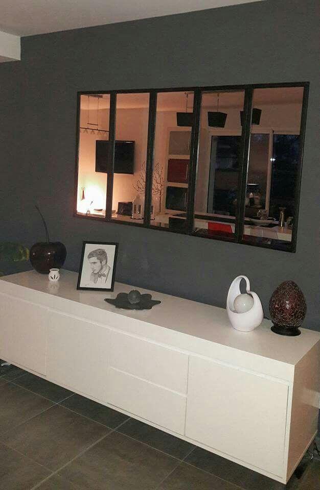 effet verri re avec miroirs de chez action d co pinterest verri re action et miroirs. Black Bedroom Furniture Sets. Home Design Ideas