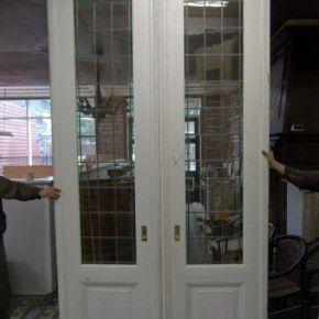 Glas in lood schuifdeuren Nr. 824