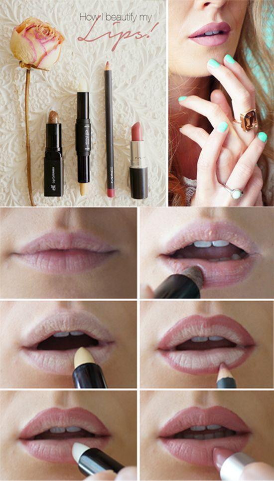 nude lips