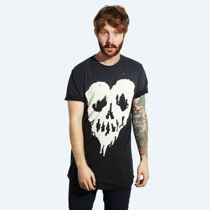 Skull Fucked T-shirt (Black) #DDXMASWISHLIST