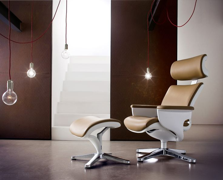 Relax-Sessel Groovie I mit Hocker Absolut hochwertig verarbeiteter bequemer Wohnsessel in ansprechendem Design. Ein zeitloses Möbelstück zum Entspannen mit raffinierten Details für einen erstklassigen...