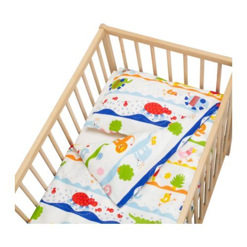 Ikea toddler bed duvet cover and pillowcase $12.99
