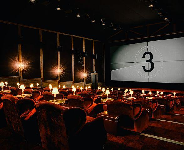 Soho House Inspired Screening Room
