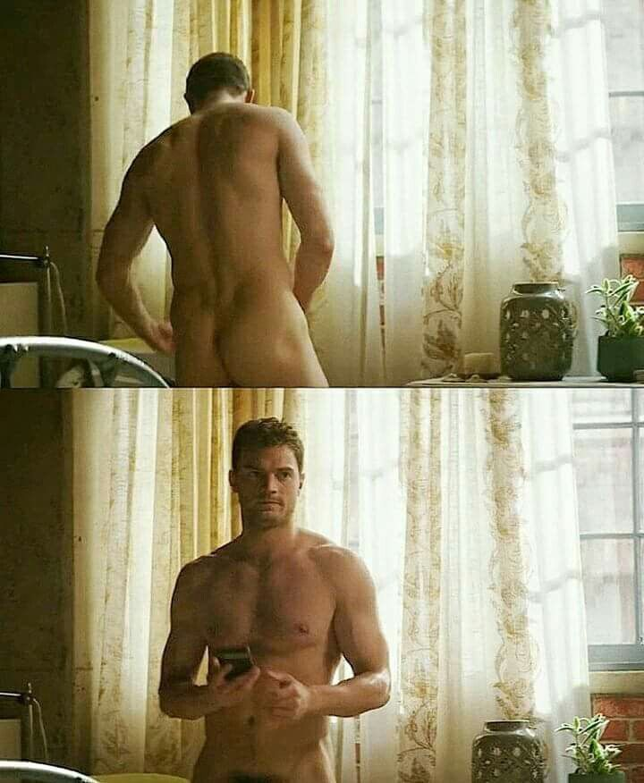 Christian Grey from the Fifty Shades movie series, his behind..just look at it! it's so cute' I'm not gonna lie. He really is something <3333