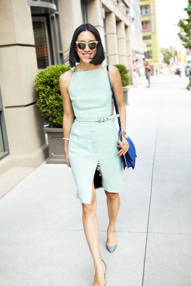 Eva Chen. Dress: Proenza Schouler. - The Cut