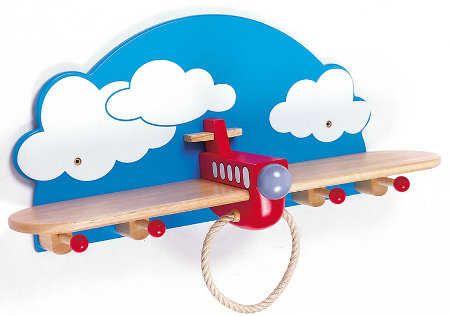 Estantes y repisas: muebles ideales para la habitación de tu niño | Espacio Niños