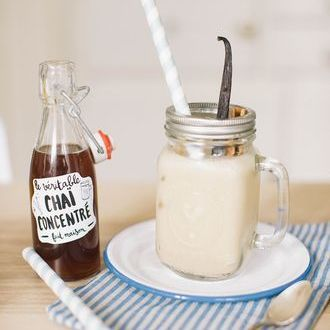 Recette Pour la pause ou le gouter Chaï latte glacé