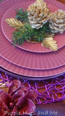 Bleached Pine Cones & Decor
