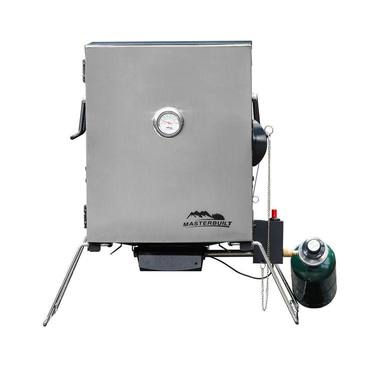 Masterbuilt Portable Propane Smoker in Stainless Steel