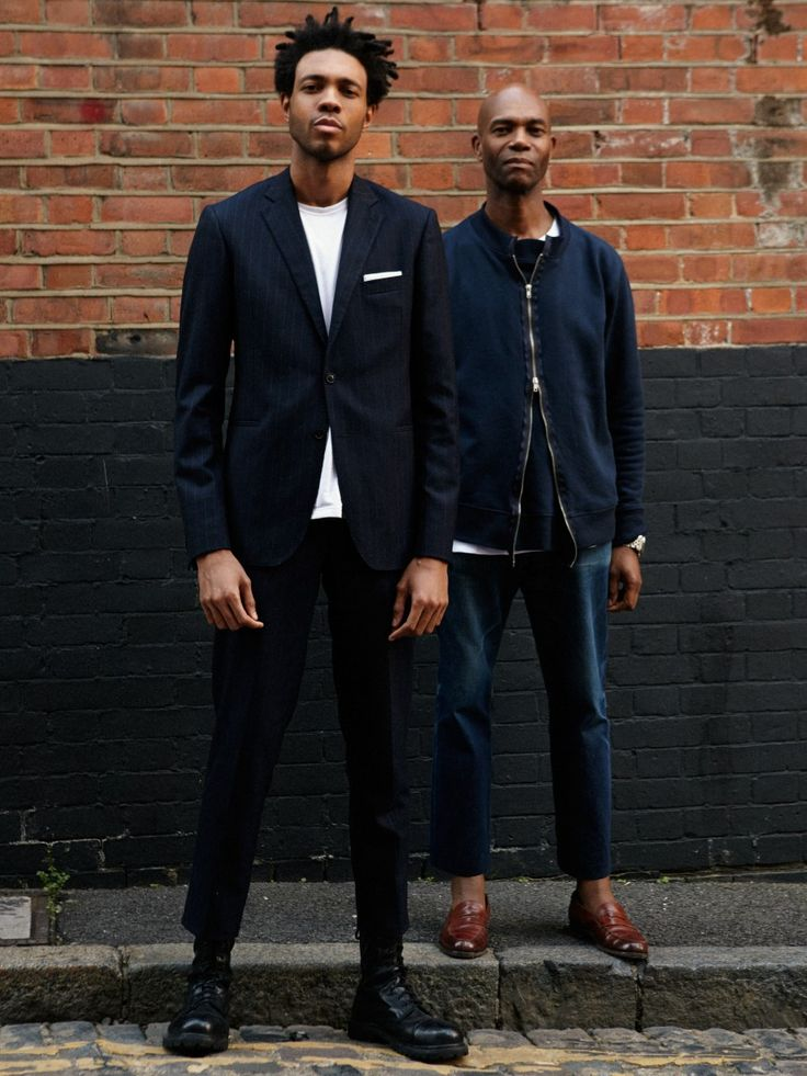"""varonmag: """" WWW.VARONMAG.COM Don't miss the """"Meeting"""" with Joe and Charlie Casely-Hayford for varonmag.com -Post by Varón Team """""""