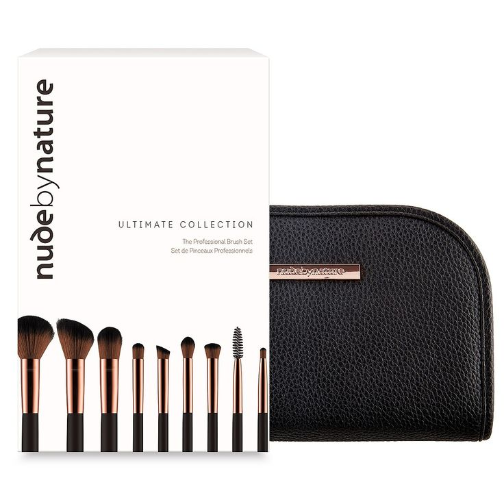 Nude By Nature Limited Edition Ultimate Brush Collection 10 pack