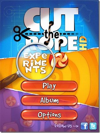Finally! Cut The Rope: Experiments!  Reach the Google Play Store! :D