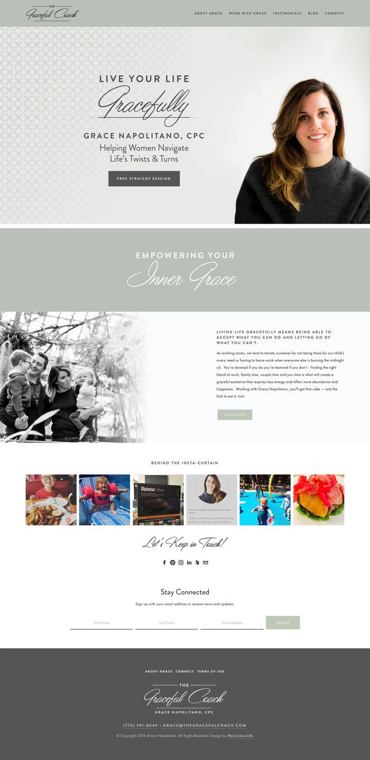 Website Design By Scott Robson At The Curious Life Thecuriouslife Org Hosted On S Squarespace Website Design Website Design Inspiration Layout Website Design
