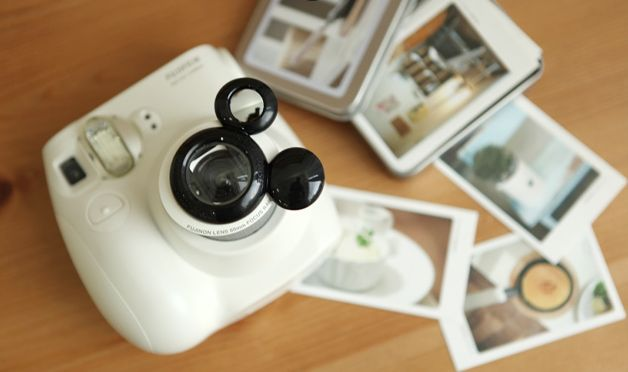 Mickey Mouse Fuji Instax Mini 7 Close Up Lens