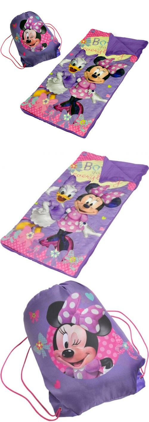 Sleeping Bags 48091: Minnie Mouse Slumber Set Nap Mat W Sling Bag Kids Storage Camping Sleeping Bag -> BUY IT NOW ONLY: $40.97 on eBay!