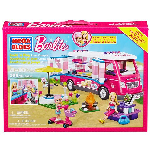 Mega Bloks Barbie Luxe Camper