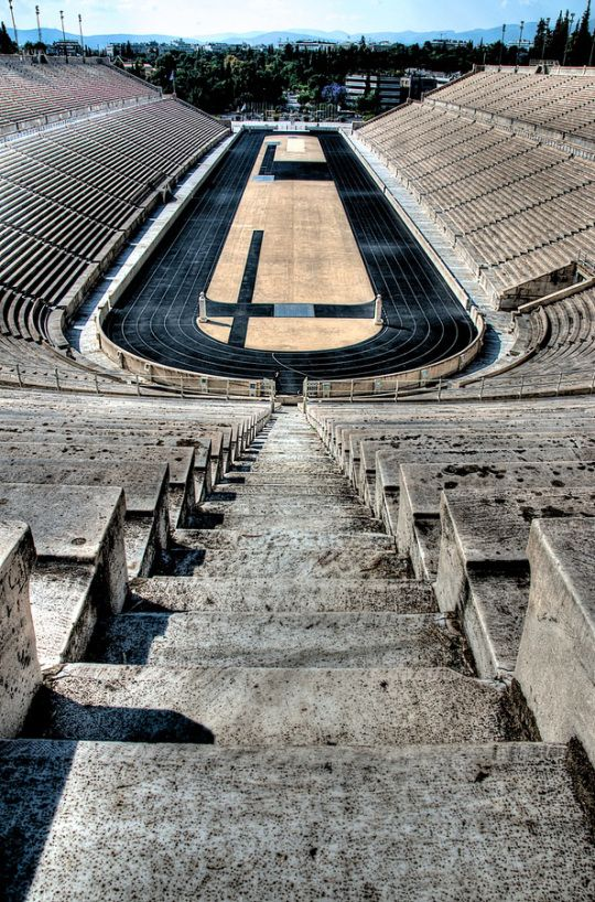 The PanathenaicStadium. Went February 14, 2014