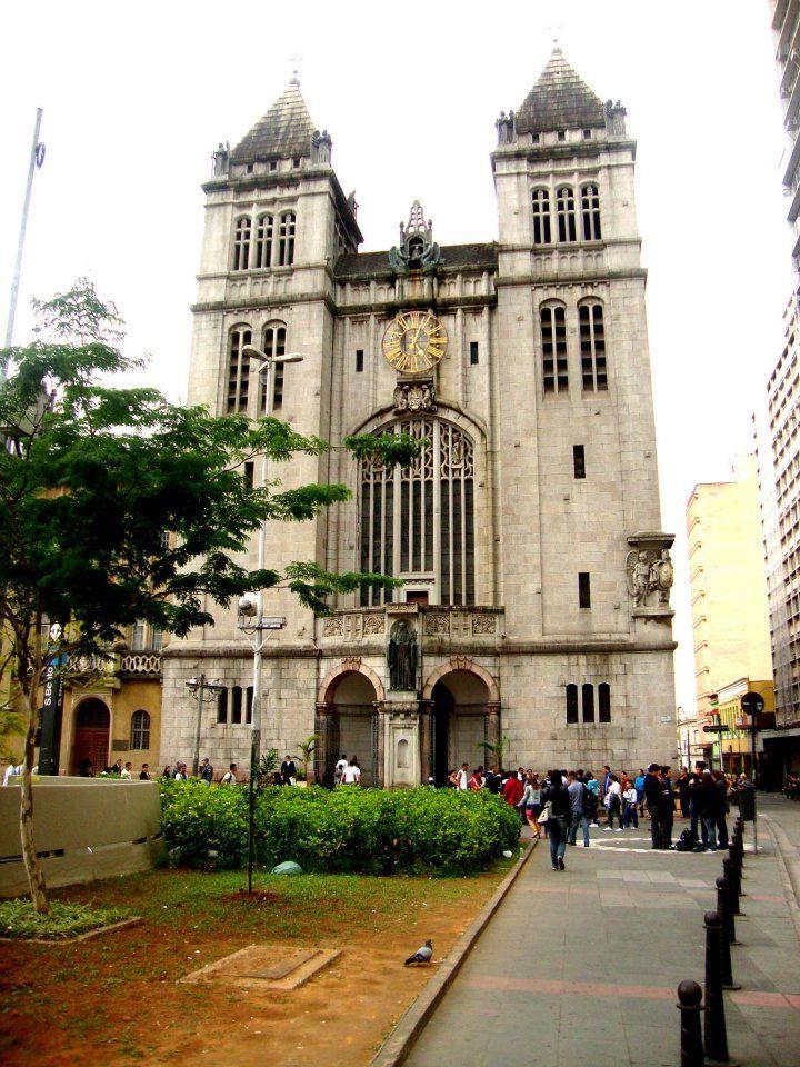 Mosteiro de São Bento — em São Paulo.
