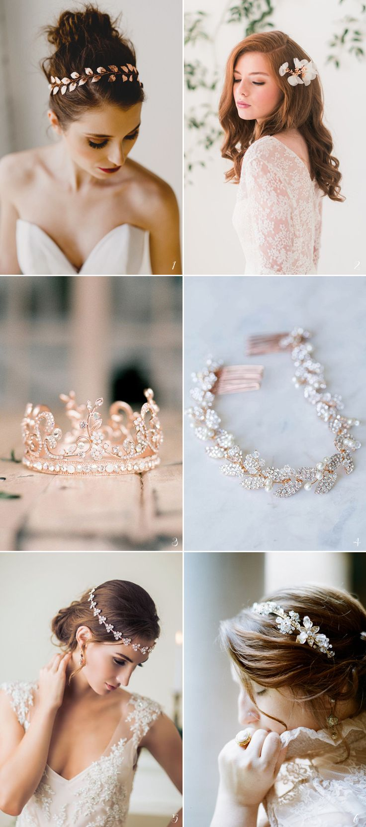 26 Stunning Rose Gold Bridal Apparel Ideas