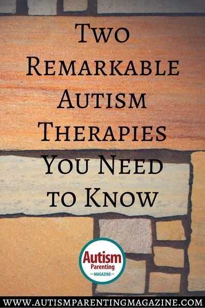 Learn about two specific therapies for children with autism, their benefits, and what typical sessions might look like.