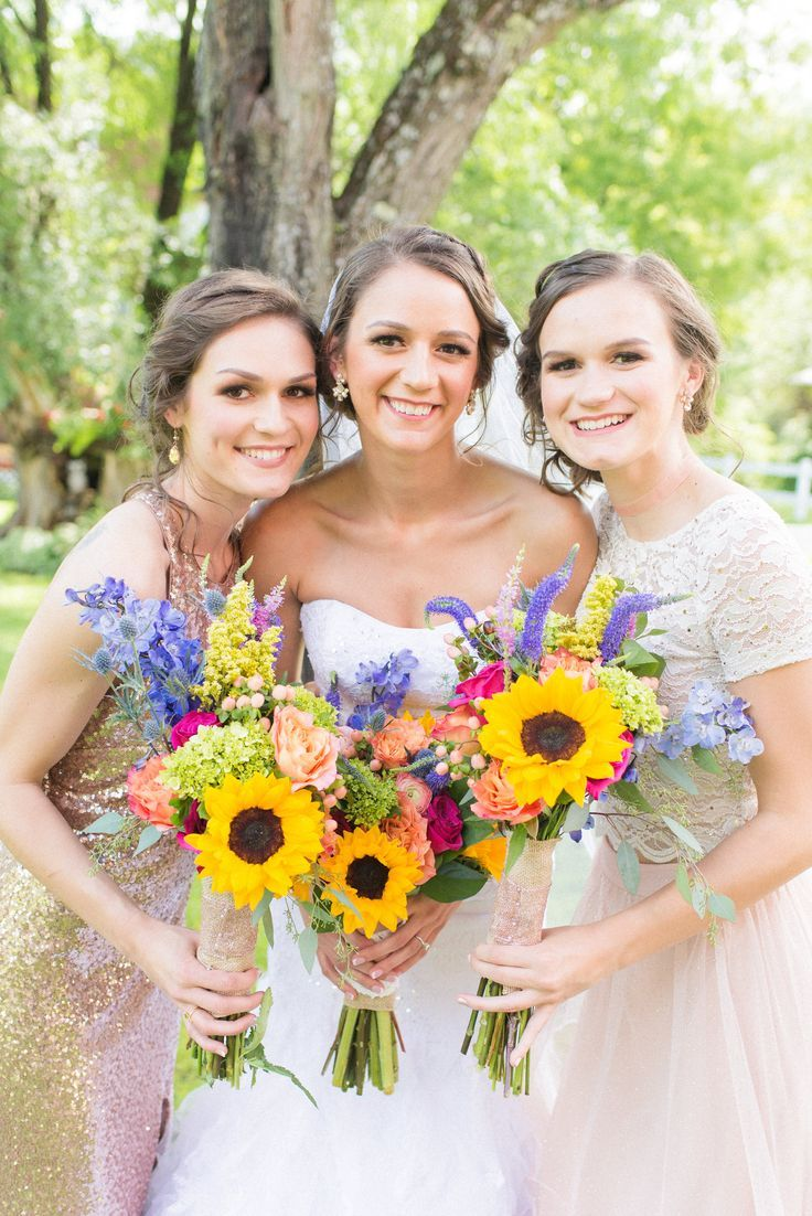 Brittany Ilene Hair And Makeup Artistry Your Wv Wedding West Virginia Wedding Planning Find Local West Virginia Wedding Wedding Sunflower Themed Wedding