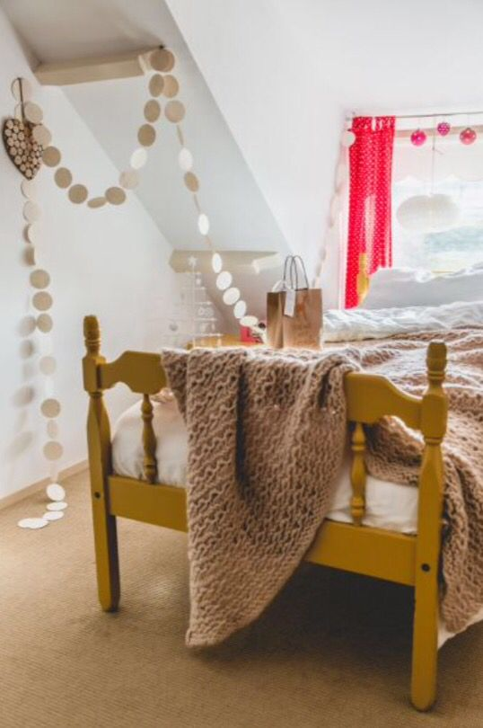 "This girls bedroom is from our feature ""Merry Matters"""