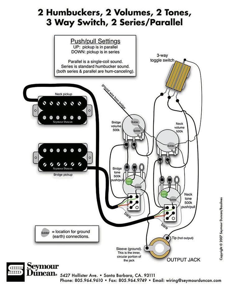 электрическая схема электрогитары лес пол фото