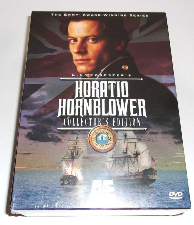 NEW CS Forester's Horatio Hornblower Collectors Edition 8 DVD Set Ioan Gruffud