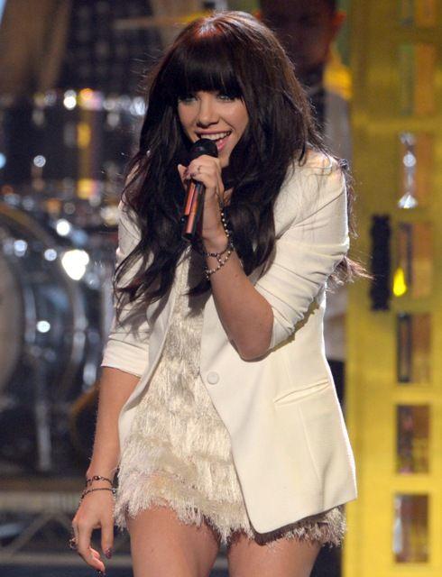 Canadian singer Carly Rae Jepsen....