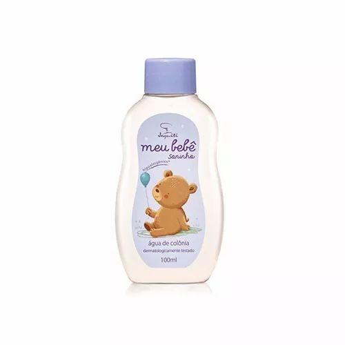 colônia desodorante infantil meu bebê soninho - jequiti
